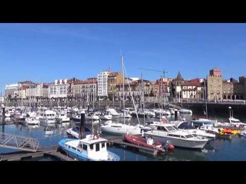 Marina of Gijón, Gijón, Asturias, Spain, Europe