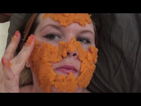 DIY Homemade Carrot Face Mask - Great for Acne