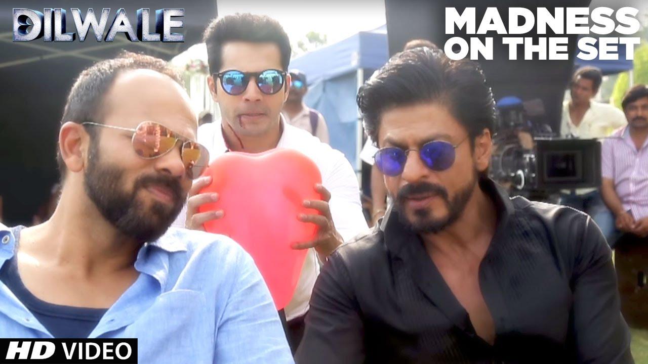 Download Dilwale | Madness on the set | Kajol, Shah Rukh Khan, Kriti Sanon, Varun Dhawan