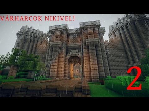 Minecraft vár harcok Nikivel 2.rész
