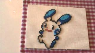 Diy Lucario Pokemon 3d Bugelperlen Tutorial Perler Bead Youtube