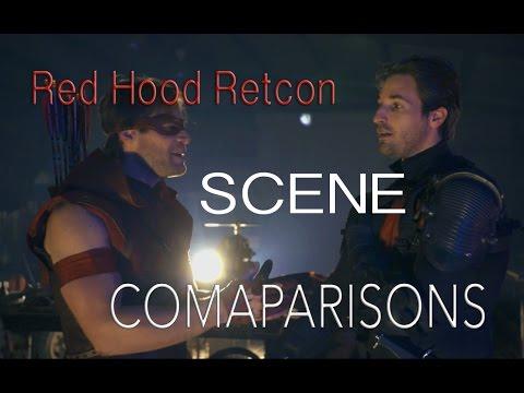 Red Hood Retcon Scene Comparisons