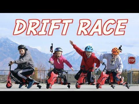 Ninja Kids Drift Race!
