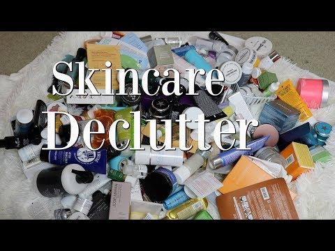 Huge Skincare Declutter!