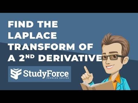 📚 How to find the Laplace Transform of a second derivative