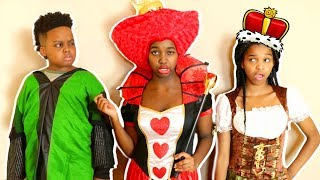 Shiloh and Shasha LOST THE QUEEN'S CROWN! - Onyx Kids