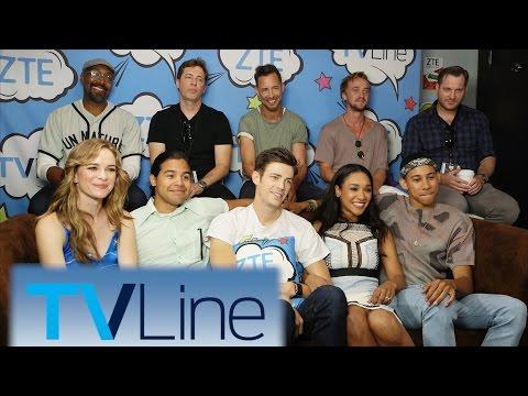 The Flash Interview | TVLine Studio Presented by ZTE | Comic-Con 2016