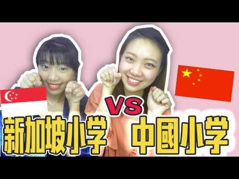 新加坡小學 VS 中國小學|新加坡小學有天才班?| Singapore Primary School VS China Primary School