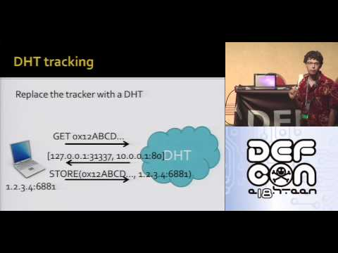 DEFCON 18: Crawling BitTorrent DHTs for Fun 1/2