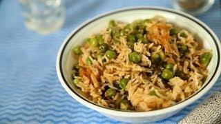 Best Matar Waale Chawal (green Peas Pulav ) By Seema