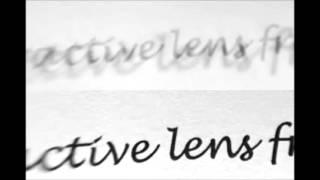 Single Focus Lens VS Diffractive Bifocal Lens