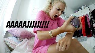 Testar olika hårborttagningar