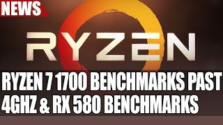 ryzen 7 1700 overclocks past 4ghz   more benchmarks   rx 580 crossfire benches