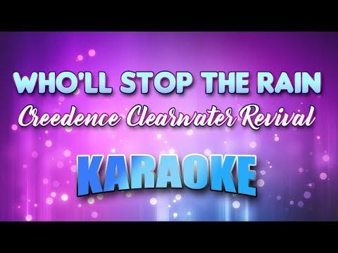 Creedence Clearwater Revival - Who'll Stop The Rain (Karaoke & Lyrics)