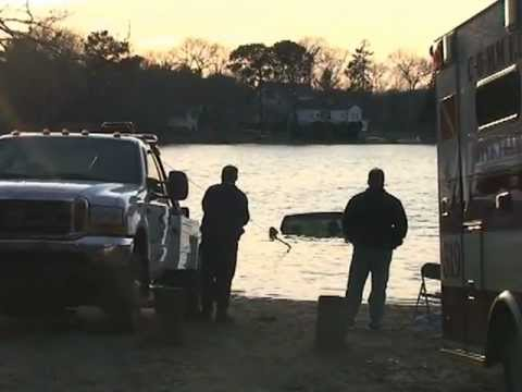 Truck found in pond on Cape Cod