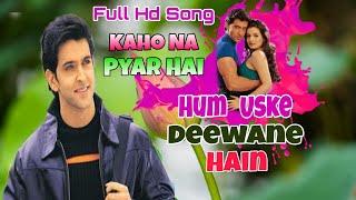Chand Sitare Phool Aur Khushboo HD Video / Kaho Na Pyar Hai /Hritik Roshan,Amisha Patel,Kumar Sanu /