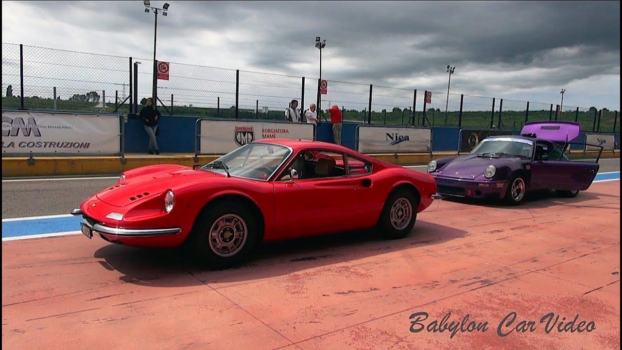 Ferrari Dino GT vs Porsche 911 - YouTube