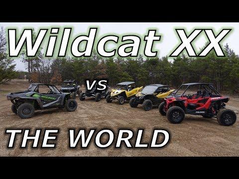 Textron Wildcat XX vs YXZ, XP1000, X3, and Turbo S! PART 1!
