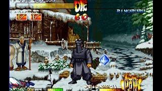 Samurai Shodown 3 [PS1] - play as Kuroko