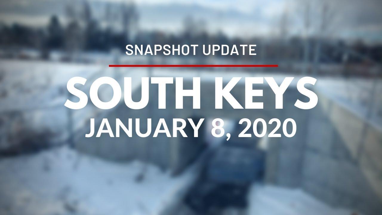 Snapshot Update for South Keys Station - January 8, 2020