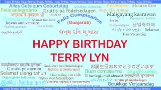 Terry Lyn   Languages Idiomas - Happy Birthday