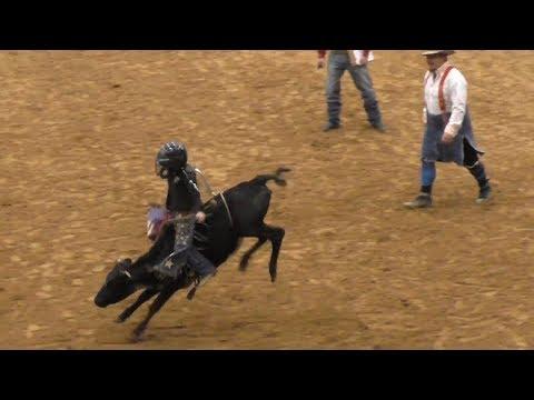 Calf Riding - 2018 Junior Bull Riding National Finals