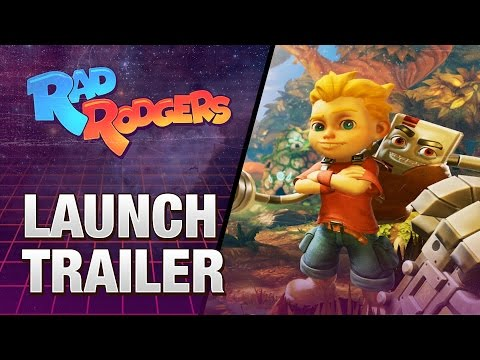 Rad Rodgers: World One – Launch Trailer