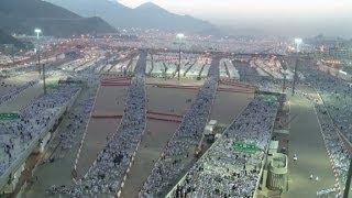 O apedrejamento de Satã na Arábia Saudita