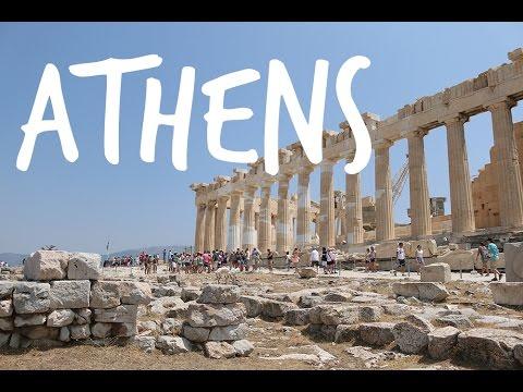 ATHENS GREECE. Acropolis, Panathenaic Stadium, Mars Hill etc.