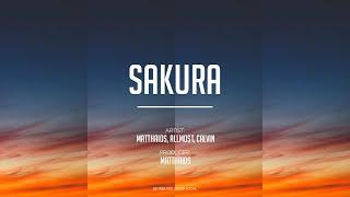 Matthaios - Sakura (feat. ALLMO$T & Calvin) (Lyrics)