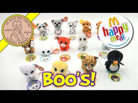 Teenie Beanie Boo's McDonald's 2017 Happy Meal Kids Fast Food Toy Review