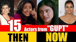 """15 Bollywood Actors from """"GUPT"""" 1997   THEN and NOW"""