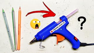 Pen glue stick || How to make glue stick of pen || How to make glue stick || how to make || Hindi