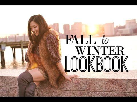 Fall To Winter Fashion Lookbook 2015 | MISS YANYI