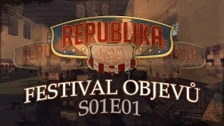 cmm republika s01 1 dl festival objevů   česk minecraft film seril cz ᴴᴰ