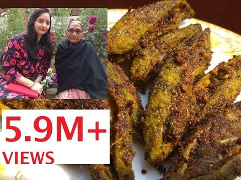 दादी माँ से सीखिये भरवां करेला बनाने की सरल और पारम्परिक विधि|Bharwan Karela Recipe|Stuffed Karela03