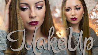 видео Девчата - Идеальный зимний макияж губ – эффект фольги (пошаговый урок в фото)