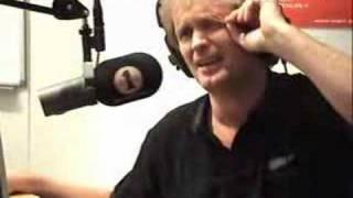 Johannes Joner i Frokostshowet på Radio 1 Stavanger