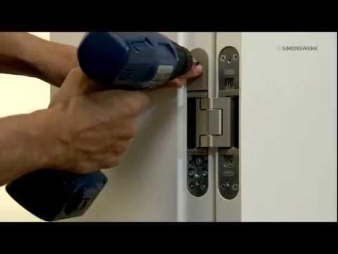 TECTUS® Concealed Hinge Installaton