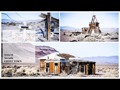 VR 360 4K ABANDONED Cabin & Gold Mining Mill Ghost Town Ruins