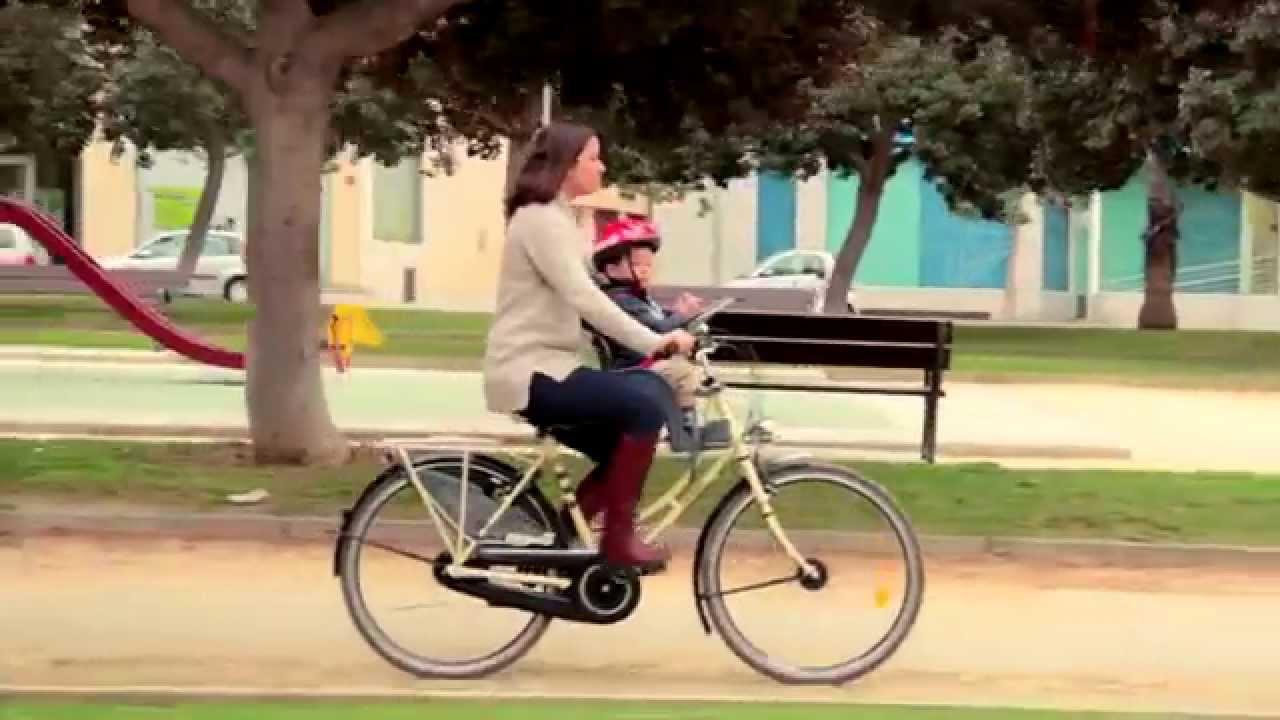 WeeRide Kangaroo Silla delantera de Bicicleta  YouTube