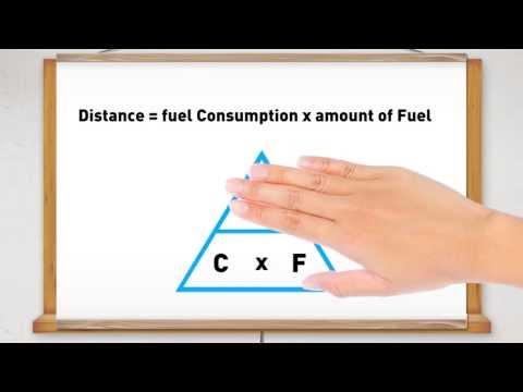 Advanced m Fuel consumption converted