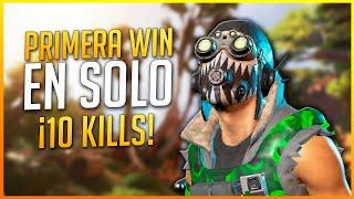 APEX LEGENDS: ¡SOLOS! PRIMERA WIN con OCTANE 10 Kills | Makina