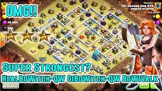 OMG!! SUPER STRONGEST ATTACK GROUNDS STRATEGY SMASH 3-STAR TH12 - CLAN WAR ( Clash of Clans )