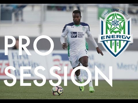 Professional Football/Soccer Training Session: Richard Dixon, Oklahoma City Energy (USL)