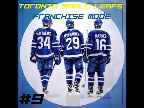 NHL 17 Franchise Mode The Toronto Maple Leafs Episode 9- Free Agency And The Off-Season