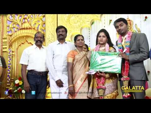 Celebrities at Cinematographer Priyan's Daughter Wedding Reception