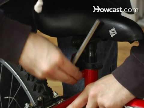 130aa1e7f9e How to Adjust a Bike Seat - YouTube