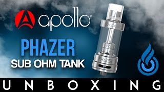Apollo Phazer Sub-Ohm Tank Unboxing by Ecig Guide