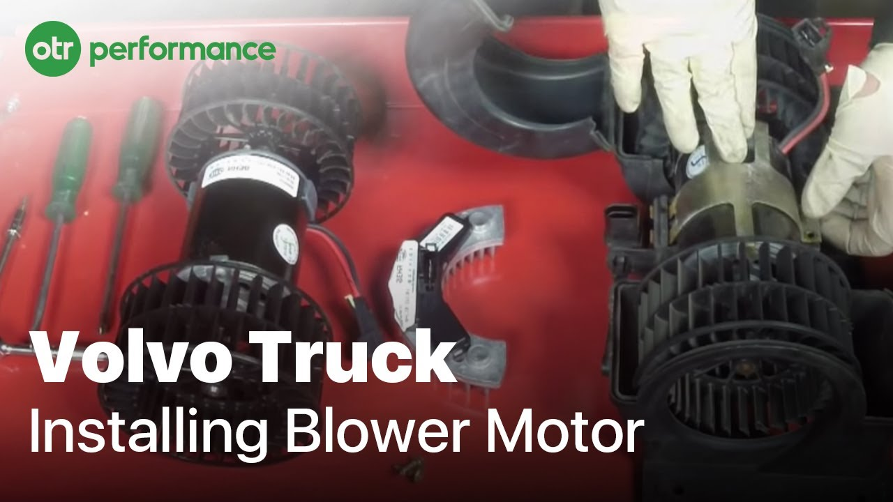 Volvo Truck Blower Motor Resistor How To Replace Otr 2009 Mack Wiring Diagrams Performance